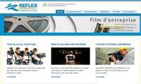 Visuel de la page home de ce site Internet institutionnel en Drupal avec portfolio