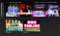 Site Internet Drupal avec agenda des événements et portfolio